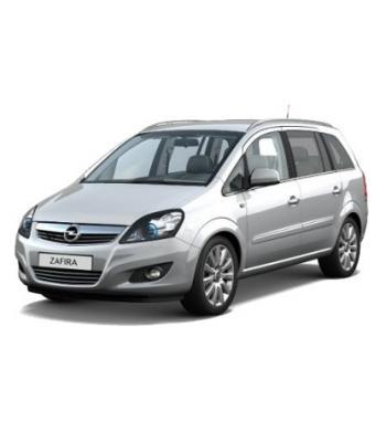 Чехлы Opel Zafira B 2005-2014 г.в
