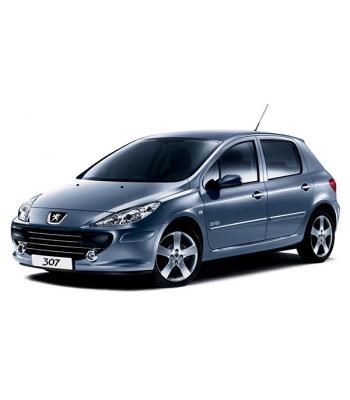 Чехлы Peugeot 307 2001-2008 г.в