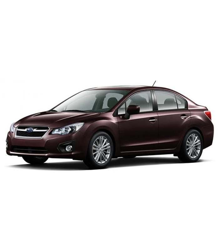Чехлы Subaru Impreza 2007-2011 г.в